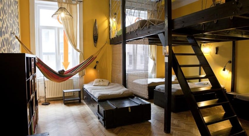 Budapeşte Aventura Hostel