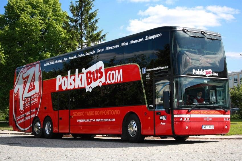Berlin'den Polonya'ya Ulaşım Polskibus