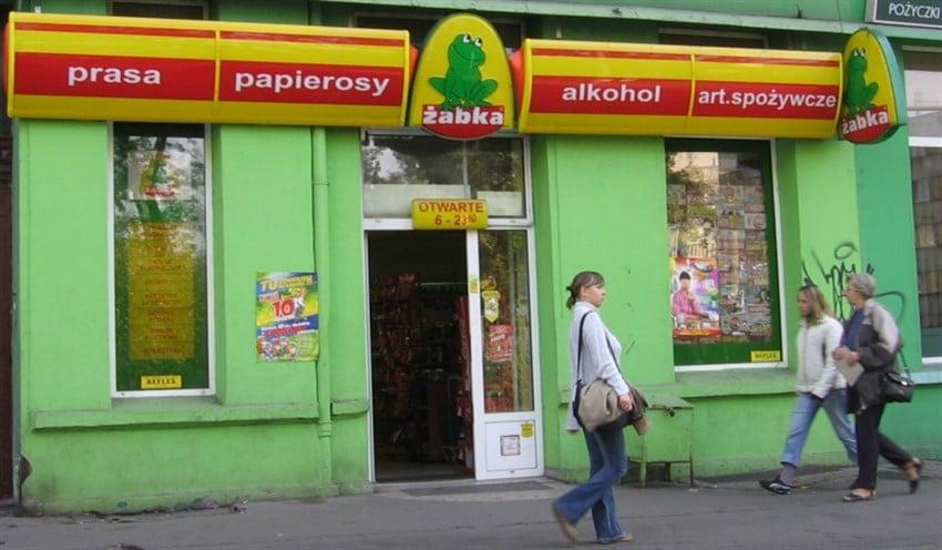 Polonya Erasmus Market zabka