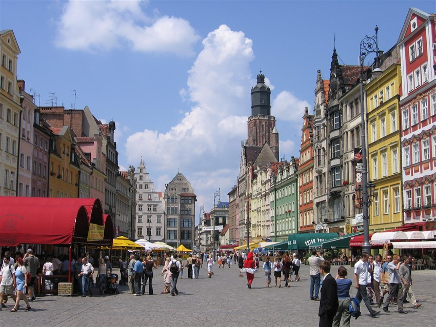 polonya wroclaw old town