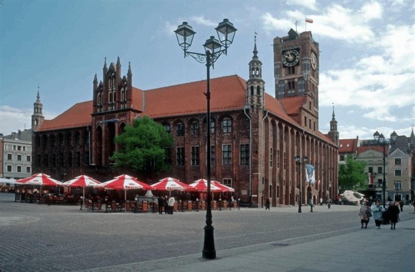 polonya torun şehir merkezi