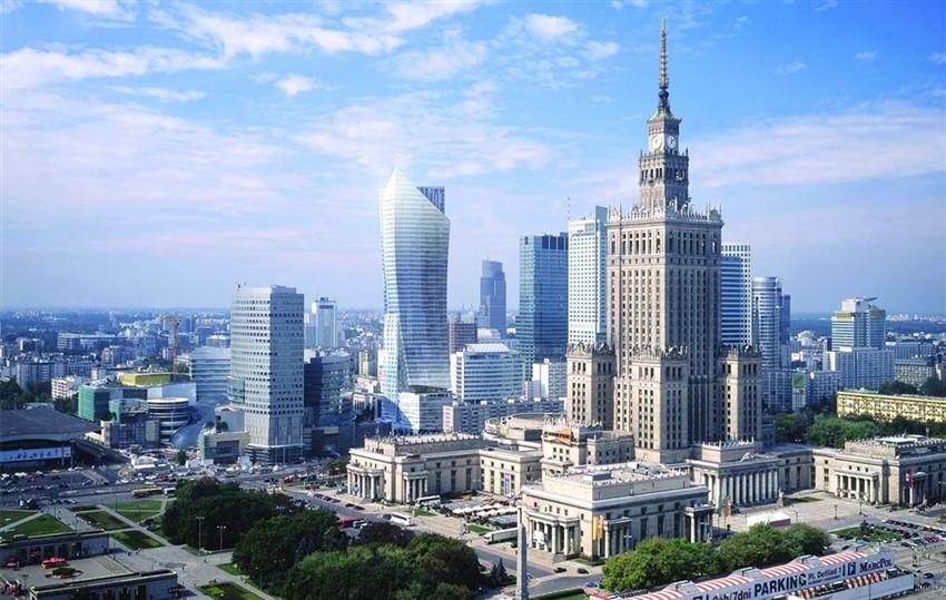 polonya varşova şehir merkezi