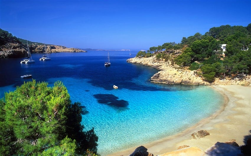 Avrupa'nın En İyi Tatil Adaları İbiza, İspanya