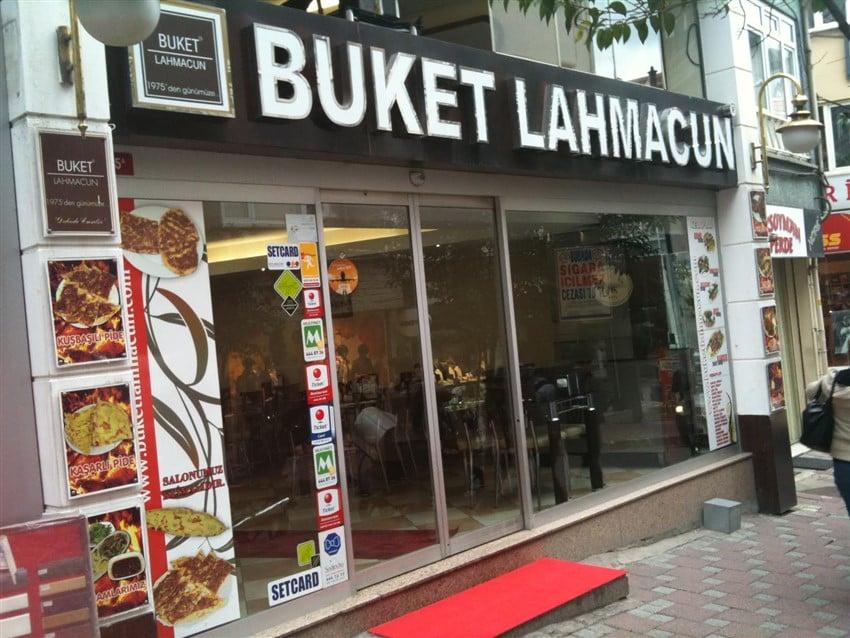 İstanbul'da En İyi Lahmacuncular Buket Lahmacun