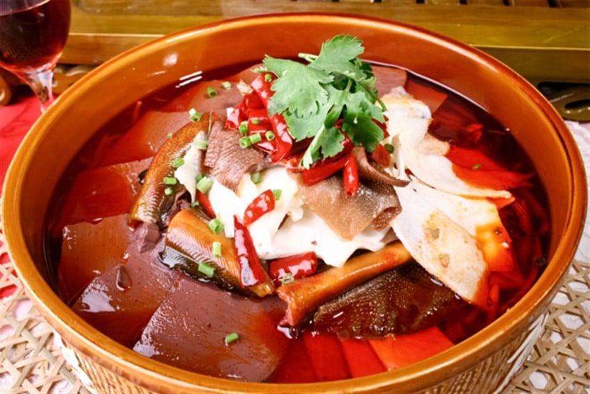 kanlı tofu blood tofu