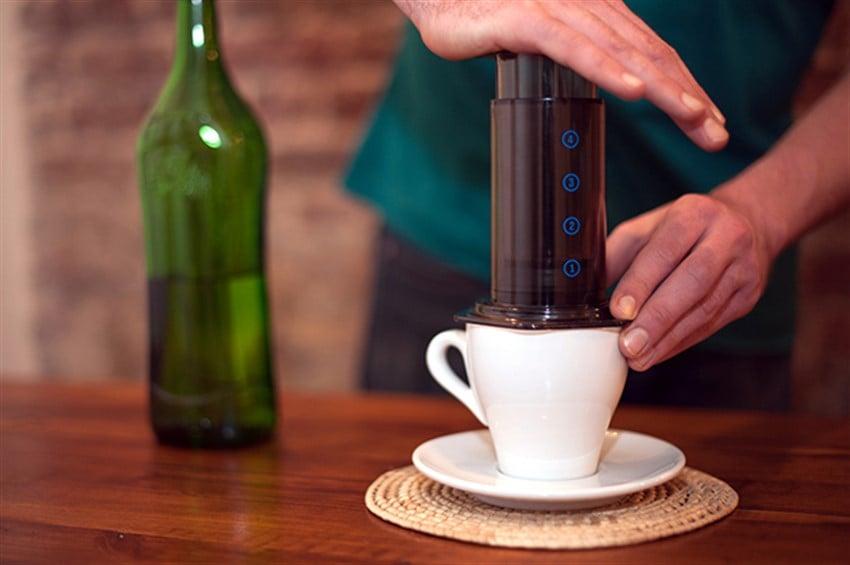 Kahve Demleme Teknikleri Aeropress