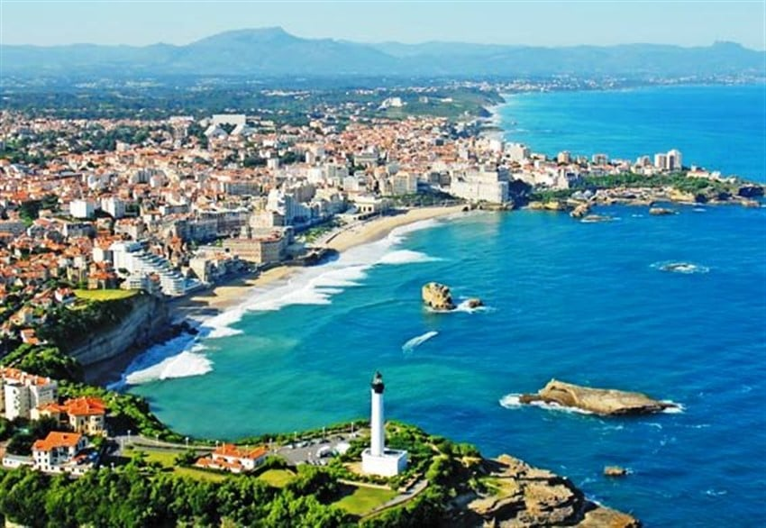 Avrupa'daki En İyi Plajlar Biarritz Beach, Fransa