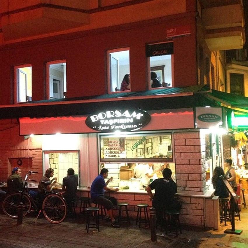 İstanbul'da En İyi Lahmacuncular Borsam Taşfırın