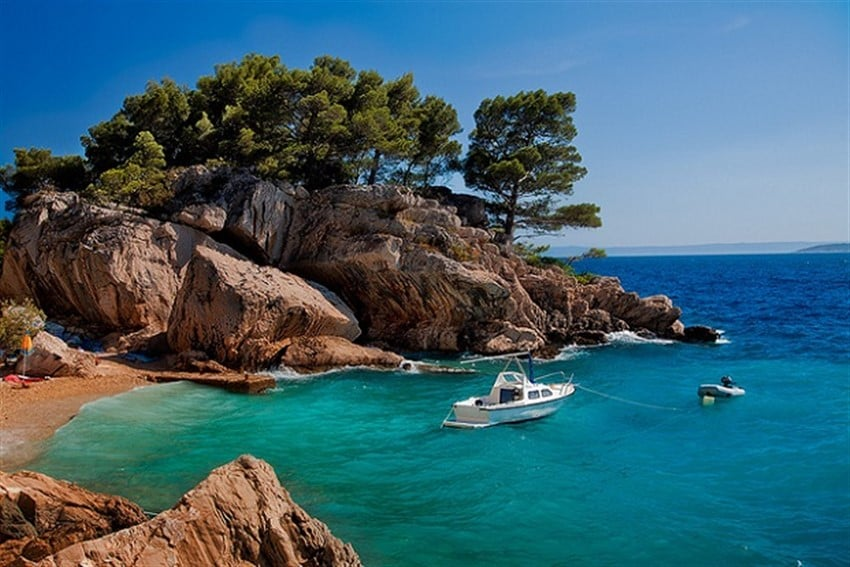 Avrupa'daki En İyi Plajlar Brela Beach Croatia