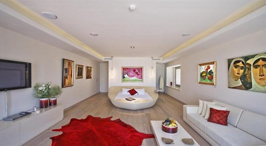 Türkiye'deki Farklı Tasarımda Oteller Casa dell'Arte Hotel