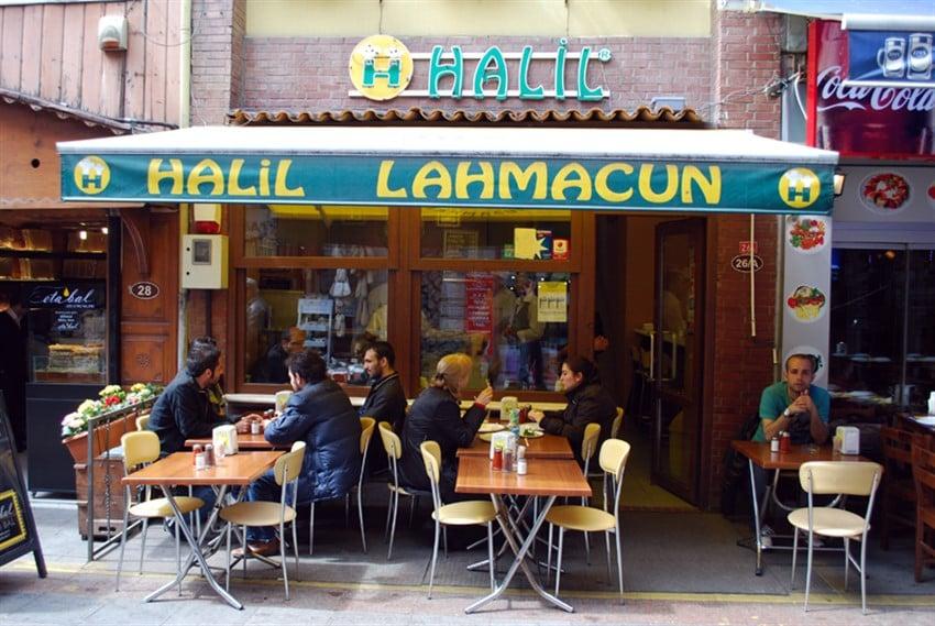 İstanbul'da En İyi Lahmacuncular Halil Lahmacun