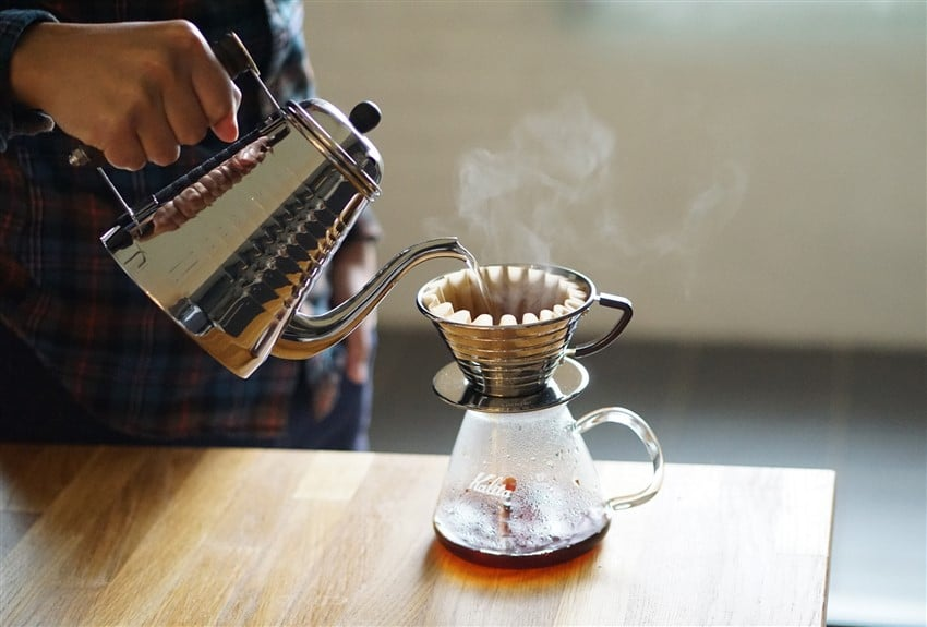 Kahve Demleme Teknikleri Kalita Wave Dripper