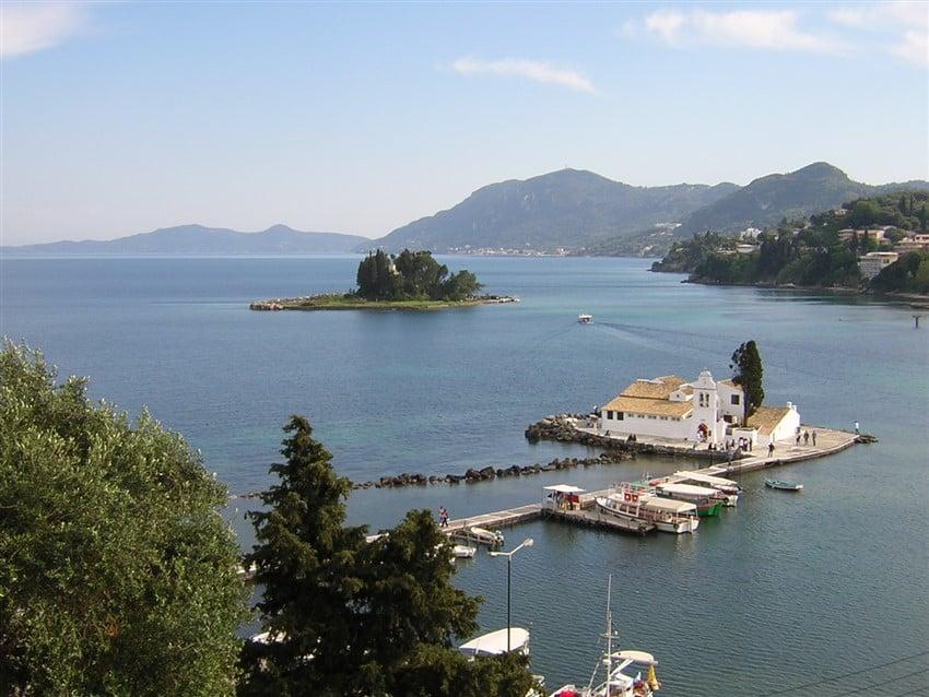 Avrupa'nın En İyi Tatil Adaları Korfu, Yunanistan