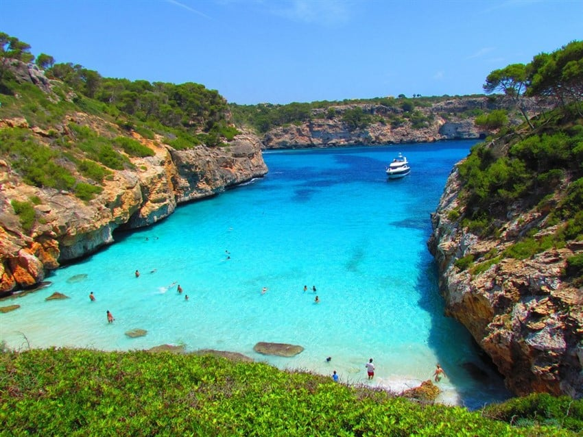 Avrupa'nın En İyi Tatil Adaları Mayorka, İspanya