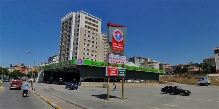 Maltepe Organik Halk Pazarı İstanbul
