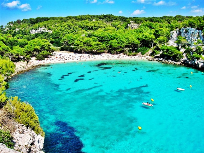 Avrupa'nın En İyi Tatil Adaları Minorka, İspanya