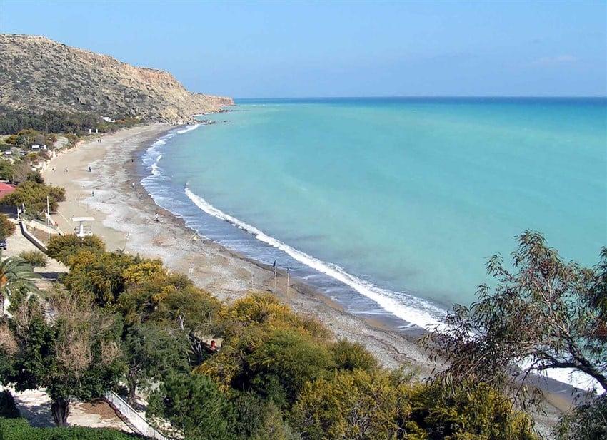 Avrupa'daki En İyi Plajlar Pissouri Beach
