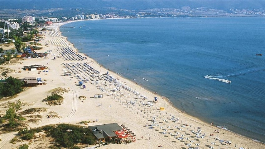 Avrupa'daki En İyi Plajlar Sunny Beach