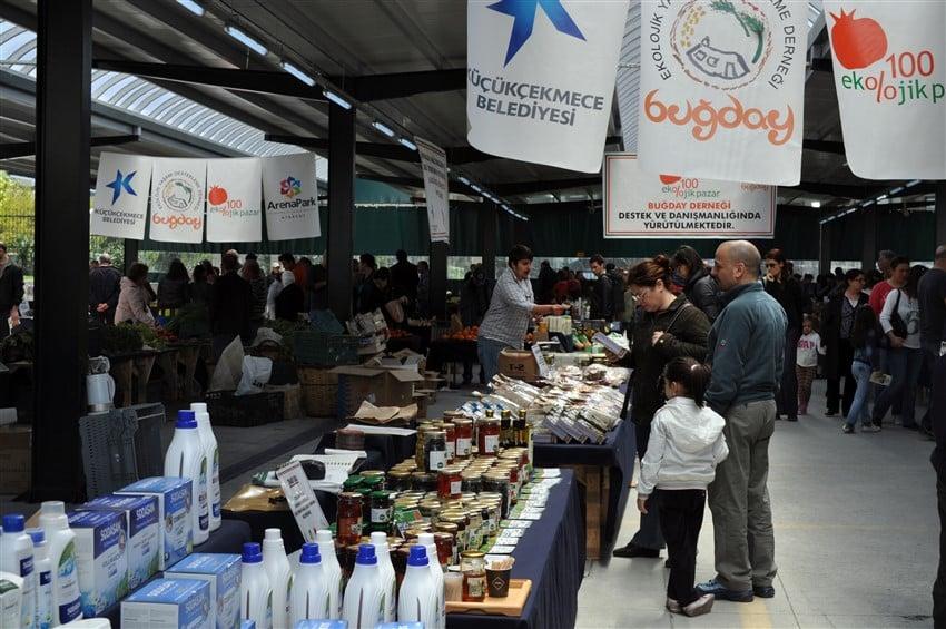 İstanbul'da Organik Pazarlar Küçükçekmece %100 Ekolojik Pazar İstanbul