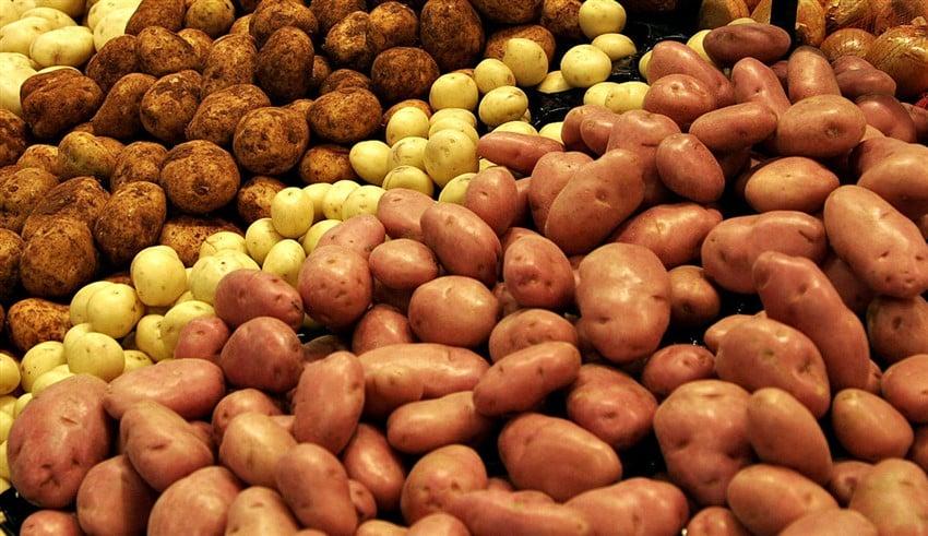 En Sağlıklı 10 Süper Yiyecek patates