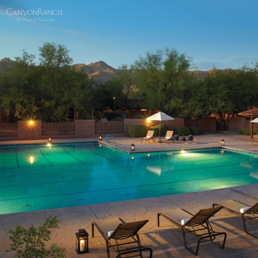 Dünya'nın En İyi 10 Spa Merkezi Canyon Ranch - Tuscon, Arizona
