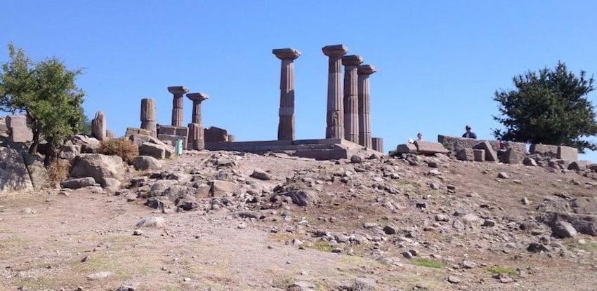 Athena Tapınağı Assos Behramkale