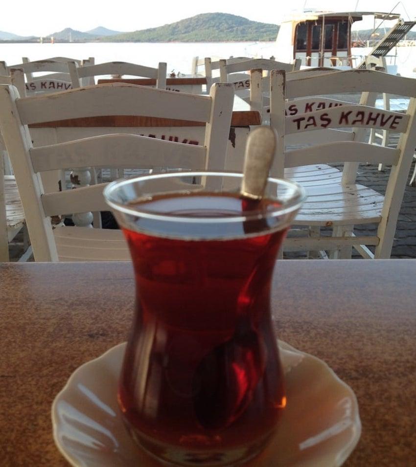 Taş Kahve Cunda Alibey Adası