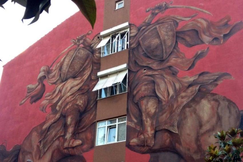 Kadıköy Yeldeğirmeni Duvar Sanatı Jaz