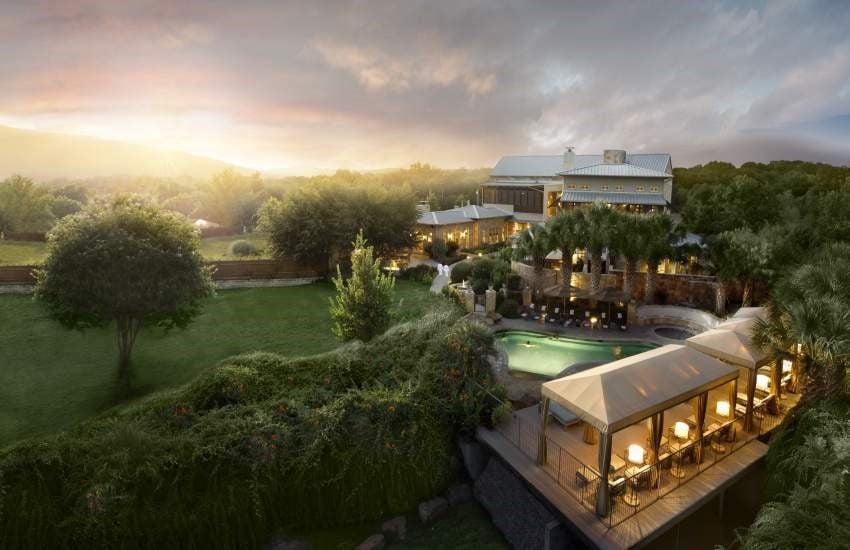 Dünya'nın En İyi 10 Spa Merkezi Lake Austin Spa Resort - Texas