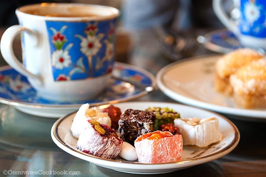 Türk Kahvesi Lokum