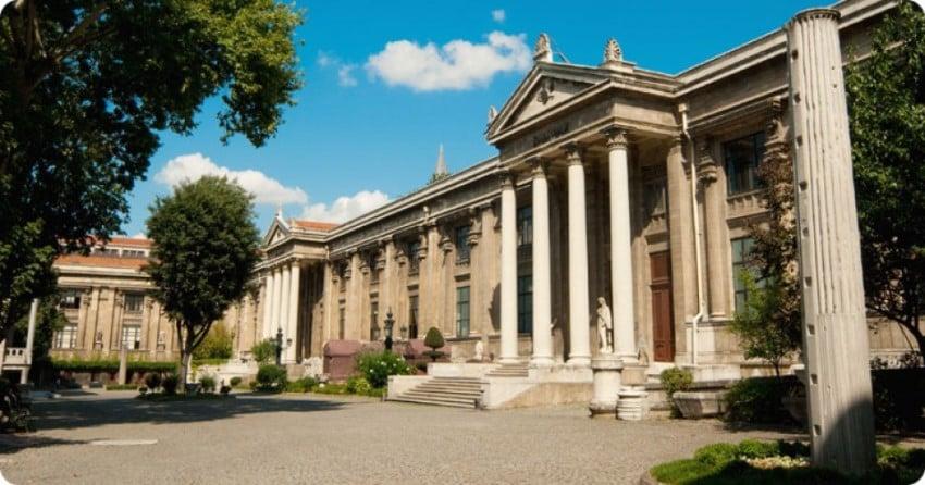 İstanbul'da Çocuklarınızla Gidebileceğiniz Müzeler İstanbul Arkeoloji Müzesi