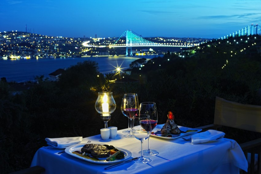 İstanbul'da En Romantik Mekanlar Sunset