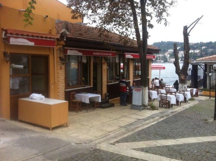 İstanbul'un En İyi Balık Restoranları Kandilli Suna'nın Yeri
