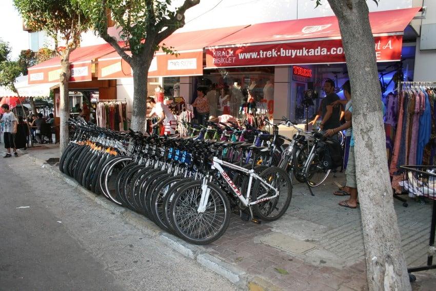 İstanbul'da Bisiklet Sürülebilecek Yerler Büyükada