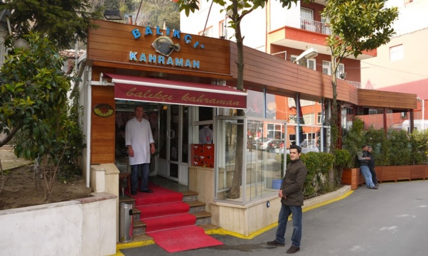 İstanbul'un En İyi Balık Restoranları Balıkçı Kahraman