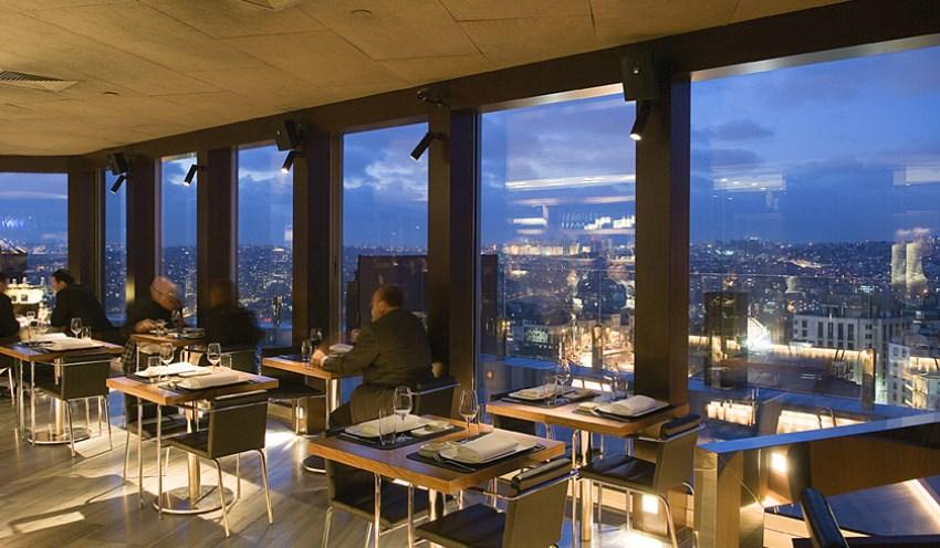 İstanbul'da En Romantik Mekanlar Mikla Restaurant
