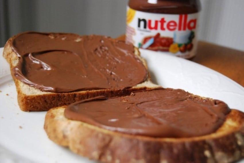 Ekmeğin Dostu Yiyecekler Nutella