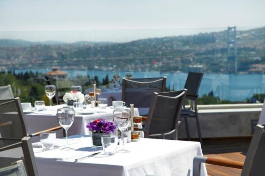İstanbul'da En Romantik Mekanlar Summit Bar & Terrace
