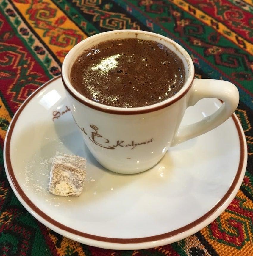 Tarihi Şark Kahvesi, Kapalıçarşı