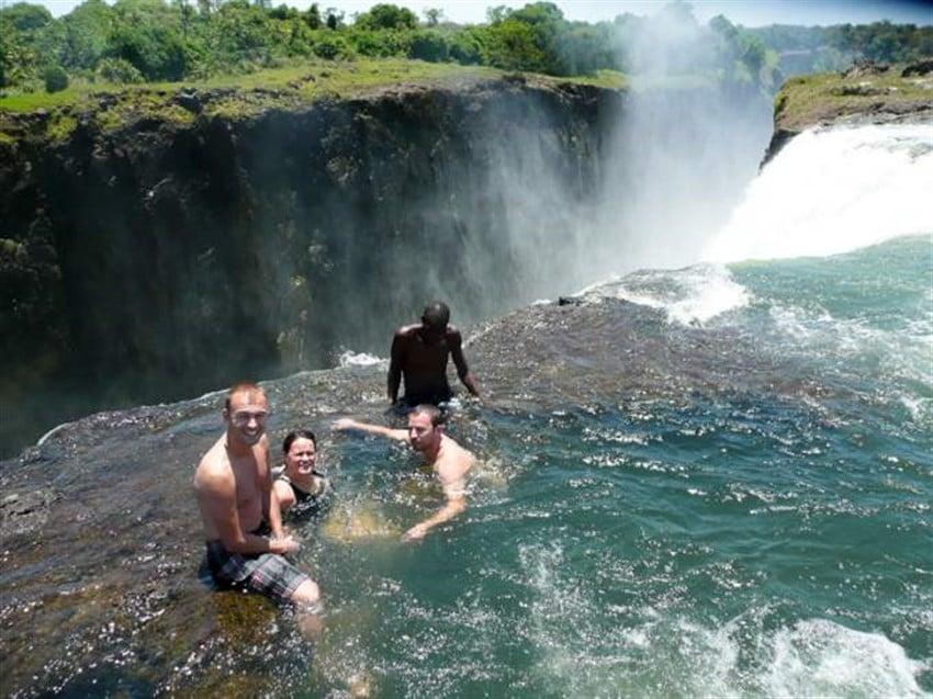 Şeytanın Havuzu, Victoria Falls, Zambia