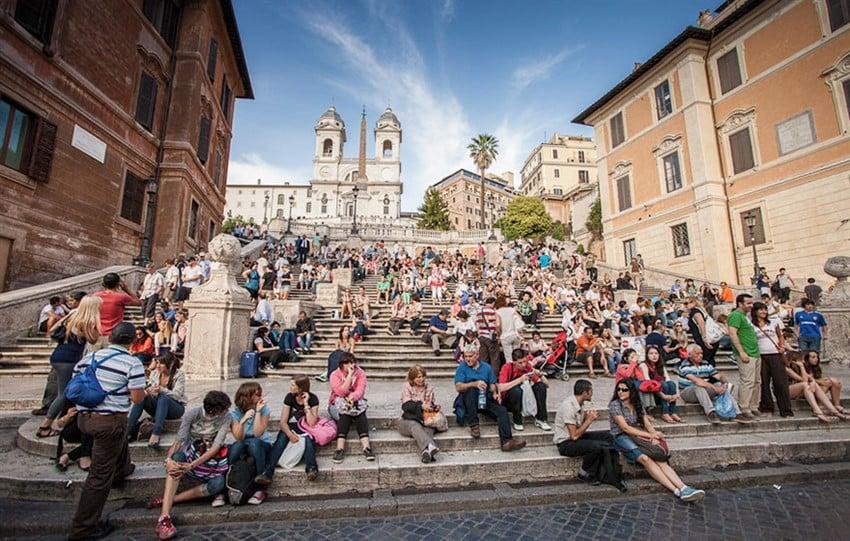 İspanyol Merdivenleri, Roma, İtalya