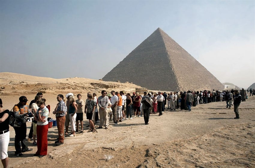 Giza Piramidleri, Mısır