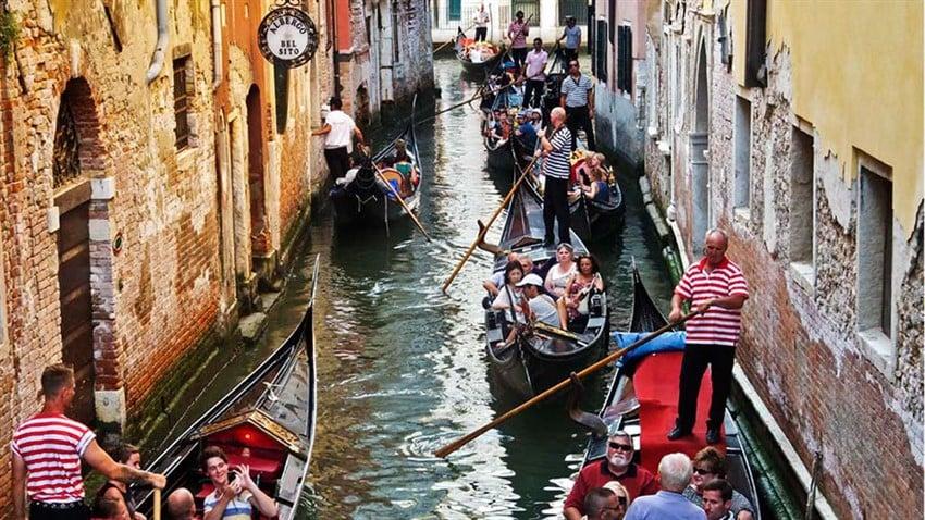 Gondol Keyfi, Venedik, İtalya