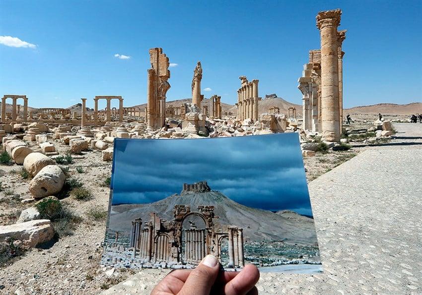 İŞİD Terörü Sonrası Tarih Yok Oldu (12)