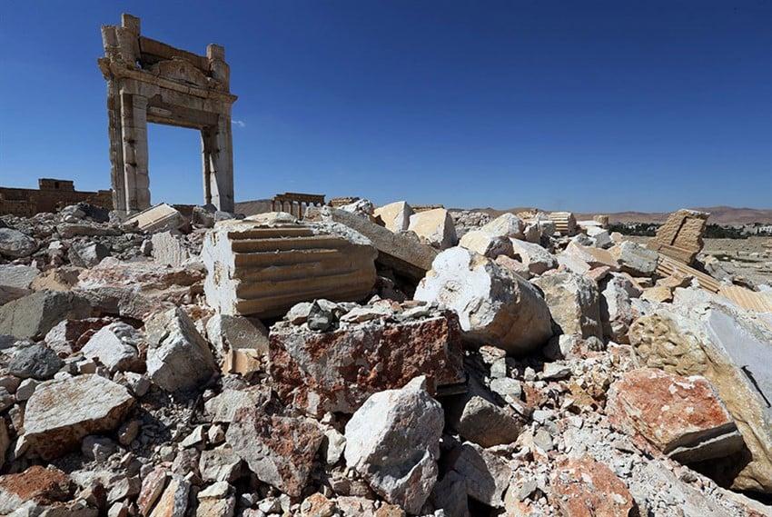 İŞİD Terörü Sonrası Tarih Yok Oldu (8)