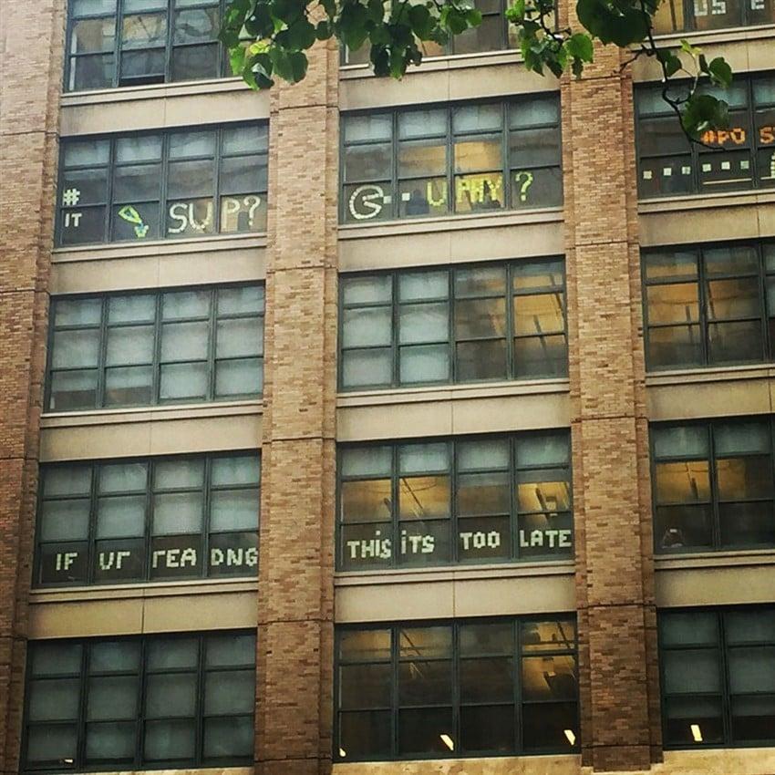 2 Farklı Ofisten Post-it Savaşları (4)