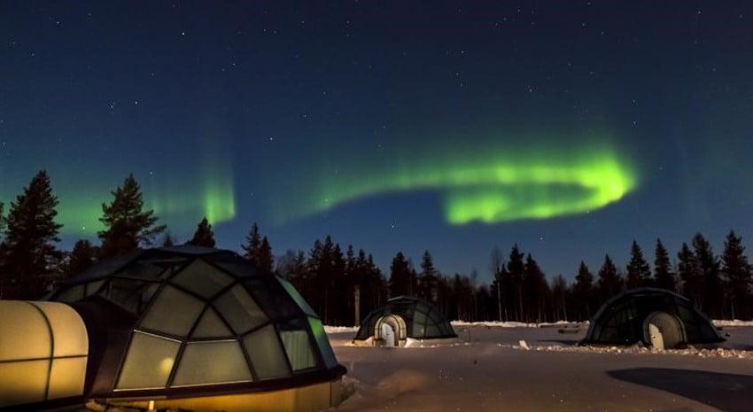 Kutup Işıklarını Görmek İçin Konaklayabileceğiniz En İyi Otel