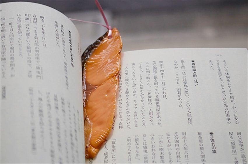 Japonya'dan Yiyeceklere Birebir Benzeyen Kitap Ayraçları