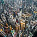 Hong Kong'a Drone Gözüyle Bakmak