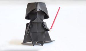 Origami ile Darth Vader Yapımı